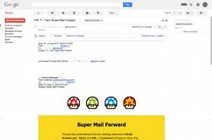Rendu dans Gmail