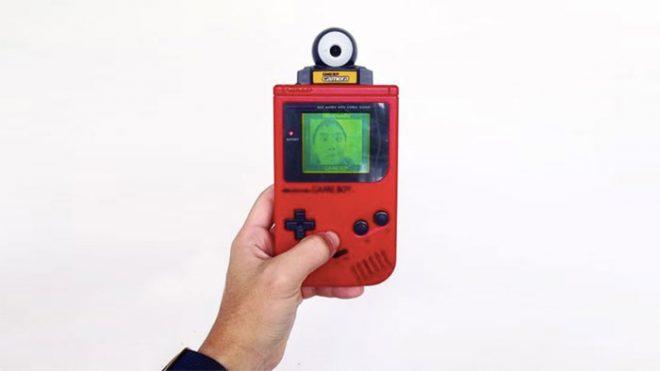 Un Game Boy Camera